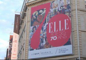 Le magazine ELLE fête ses 70 ans au BHV Marais