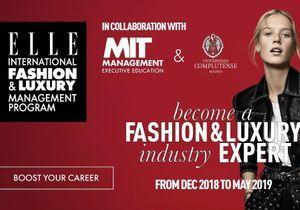 Le programme ELLE x MIT forme aux métiers du luxe et de la mode