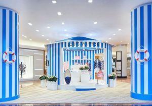 Louis Vuitton vous propose une pause vacances aux Galeries Lafayette Haussmann