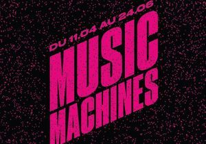 « Music machines » aux Galeries Lafayette, le son monte dans le grand magasin