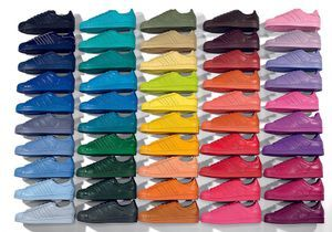 Pharrell Williams colore la Superstar d'Adidas Originals