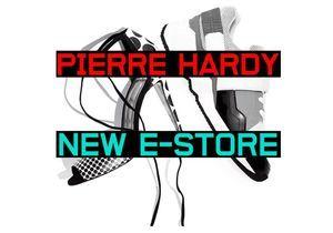 Pierre Hardy relance son e-shop
