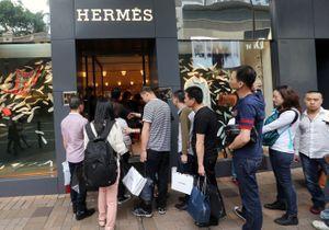 Pour sa réouverture en Chine, une boutique Hermès bat d'impressionnants records de vente