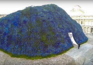 #PrêtàLiker : Regardez le décor du défilé Dior prendre vie en quelques minutes