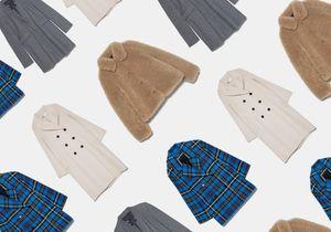Voici 30 manteaux Zara à shopper avant qu'ils ne soient sold out