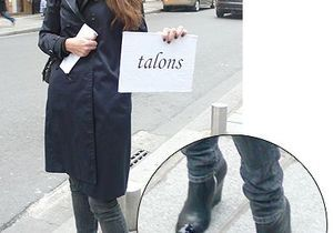 Fashion match : plat ou talons ?