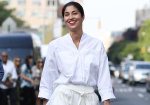 Comment les modeuses portent la chemise blanche ?