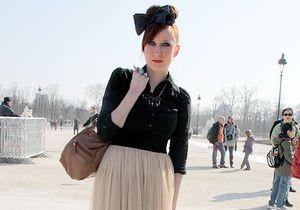 Street style : plus longue sera la jupe !