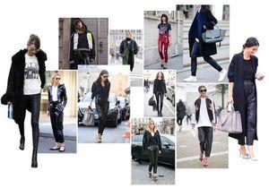 Comment porter le pantalon en cuir : la leçon des filles cools