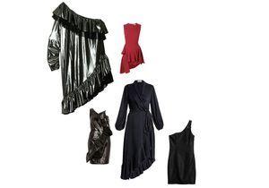 Chic la robe asymétrique