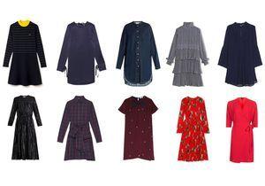 30 robes à la faveur de l'hiver