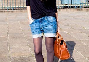 """Une fille tout simplement : """"En ville, le short en jean sera chic ou ne le sera pas!"""""""