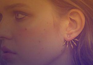 Les boucles d'oreilles devant-derrière, notre idée cadeau mode de Noël