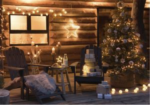 Un jardin enchanté grâce à la déco de Noël d'extérieur !