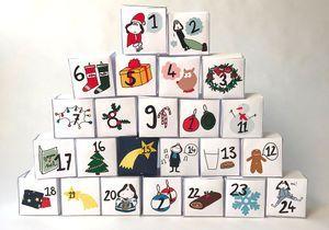 #DIY: Fabriquer son calendrier de l'avent