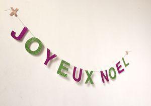 #DIY guirlande : fabriquez votre propre guirlande de Noël !