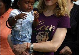 Dernière étape pour Madonna dans l'adoption du petit Malawite David