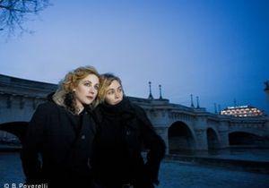 Emmanuelle Béart et Julie Depardieu : Deux coeurs en hiver