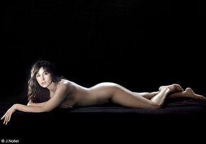 Monica Bellucci à nu