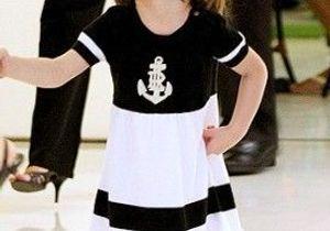 A 3 ans, la fille de Tom Cruise veut une fourrure
