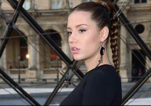 Adèle Exarchopoulos enceinte : elle dévoile son ventre rond au défilé Louis Vuitton
