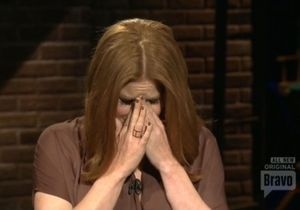 Amy Adams en pleurs à la télévision