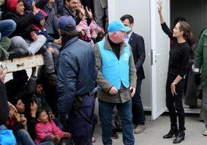 Angelina Jolie en Grèce pour soutenir les réfugiés