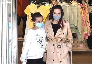 Angelina Jolie et sa fille Vivienne complices lors d'une virée shopping