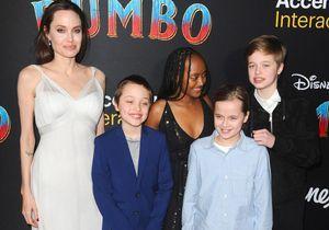 Angelina Jolie et ses enfants, stars de l'avant-première de Dumbo !