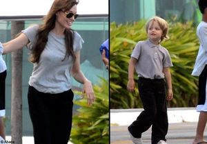 Angélina Jolie et Shiloh : telle mère, tel fils !
