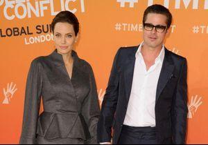 Angelina Jolie évoque le soutien de Brad Pitt