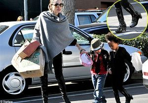 Angelina Jolie : journée entre filles !