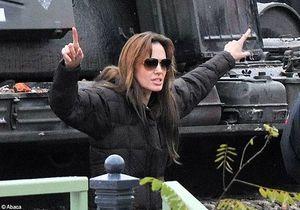 Angelina Jolie : les images du tournage de son film