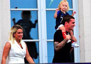 Antoine Griezmann et Erika Choperena fêtent l'anniversaire de leur fille Mia, quelques jours avant la naissance de leur fils