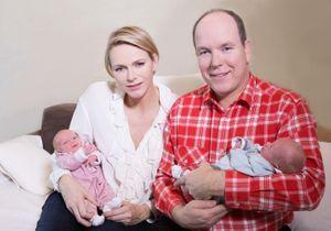 Les jumeaux et Charlène de Monaco sont sortis de l'hôpital pour Noël