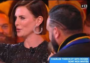 Après un baiser volé, Charlize Theron recadre Cyril Hanouna