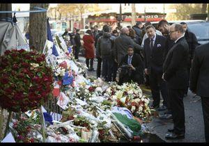 Attentats à Paris : l'hommage du prince Albert devant le Bataclan