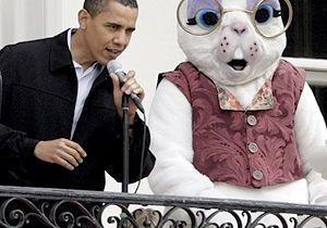 Barack Obama ouvre la chasse… aux œufs !