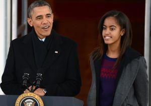 Barack Obama: sa fille Malia fait ses premiers pas à Hollywood
