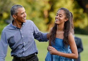 Barack Obama, triste de voir sa fille Malia partir à la fac