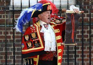 Bébé royal : le crieur n'était pas invité par Buckingham !