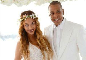 Blue Ivy pose sur les photos de mariage de la mère de Beyoncé