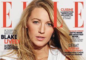 Blake Lively, sublime cover girl de ELLE cette semaine!