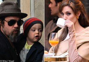 Brad Pitt emmène sa fille faire du shopping…