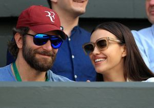 Bradley Cooper et Irina Shayk : balade au bord de la plage avec Léa de Seine