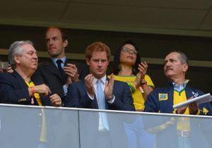 Brésil 2014: le prince Harry dans les tribunes pour Brésil-Cameroun !