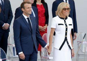 Brigitte et Emmanuel Macron : la photo du couple plus amoureux que jamais à l'Elysée
