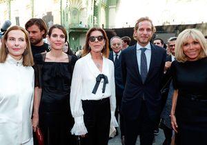 Brigitte Macron, Charlotte Casiraghi, Carla Bruni : les images de l'hommage à Karl Lagerfeld