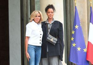 Brigitte Macron : toutes les images de la rencontre avec Rihanna