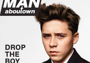 Brooklyn Beckham, en couverture d'un magazine de mode